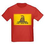 Don't Tread on Me! Kids Dark T-Shirt