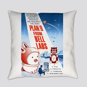 Plan 9 Color Everyday Pillow