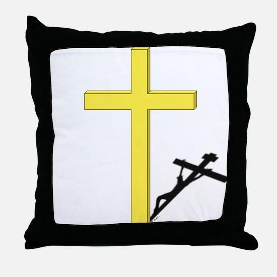 Cross of Christ Throw Pillow