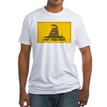 Don't Tread on Me! Fitted T-Shirt