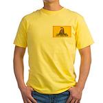 Don't Tread on Me! Yellow T-Shirt