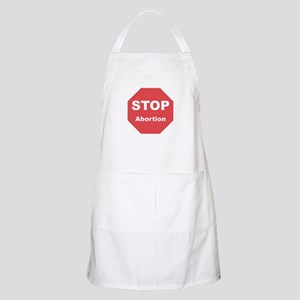 STOP Abortion BBQ Apron