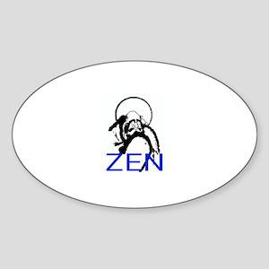 ZEN Bodhidharma Sticker