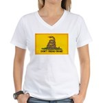 Don't Tread on Me! Women's V-Neck T-Shirt