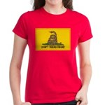 Don't Tread on Me! Women's Dark T-Shirt
