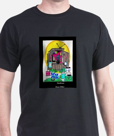 Outhouse Series/Home Office T-Shirt