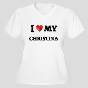 I love my Christina Plus Size T-Shirt