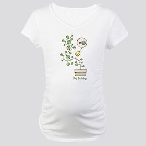 Earh Friendly Birdie Maternity T-Shirt