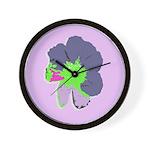 Groovy Flower Wall Clock