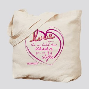 SATC Love Is The Thing Tote Bag