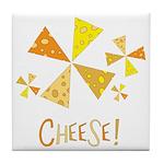 Cheese! Tile Coaster