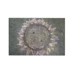 Manhole Cover Sun Magnets