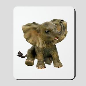 Beautiful African Baby Elephant Mousepad