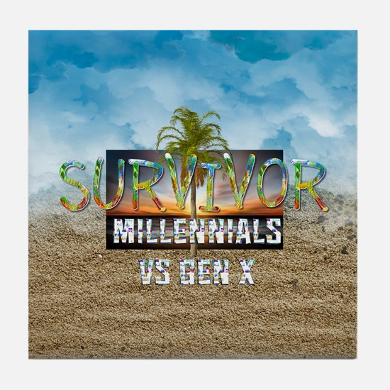 Survivor Tile Coaster