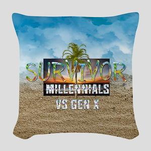Survivor MvG Woven Throw Pillow