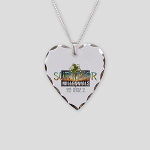 Survivor MvG Necklace Heart Charm