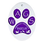 WagsLogo1_Purple Oval Ornament