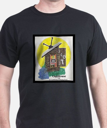Outhouse/Air/Running Water T-Shirt