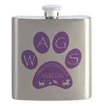 WagsLogo1_Purple Flask