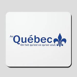 """""""Au Quebec - On fait qu'est ce qu'on veut"""" Mousepa"""