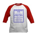 Supersedure Zone Kids Baseball Jersey
