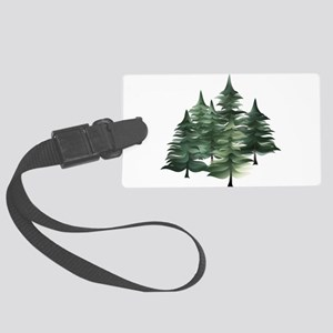 Spruce Grove Large Luggage Tag