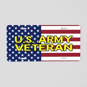 U.S. Army: Veteran (America Aluminum License Plate