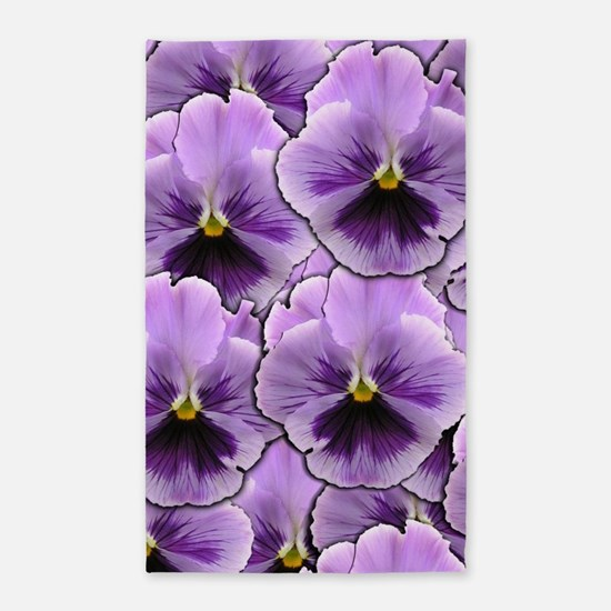 Pansy Patch Area Rug