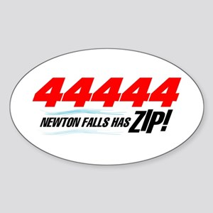Newton Falls ZIP Oval Sticker