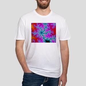 Ash grey T-shirt with fracta T-Shirt