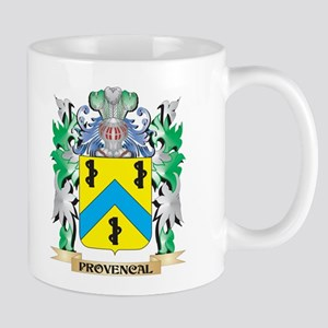 Provencal Coat of Arms - Family Crest Mugs