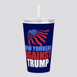 New Yorkers Against Tr Acrylic Double-wall Tumbler