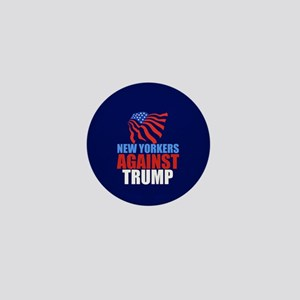 New Yorkers Against Trump Mini Button