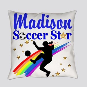 PERSONALIZE SOCCER Everyday Pillow