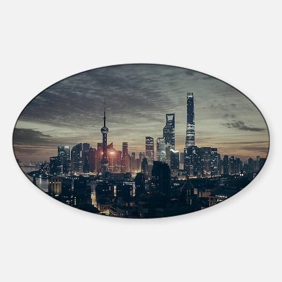 Shanghai by Night Decal