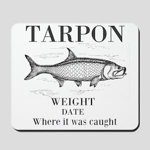 Tarpon fishing Mousepad