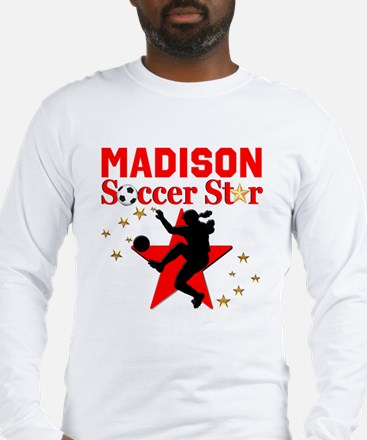 PERSONALIZE SOCCER Long Sleeve T-Shirt
