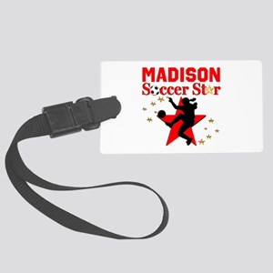 PERSONALIZE SOCCER Large Luggage Tag