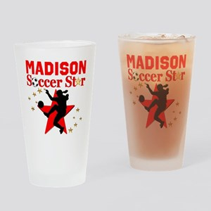 PERSONALIZE SOCCER Drinking Glass