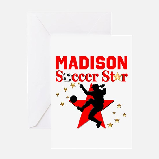 PERSONALIZE SOCCER Greeting Card