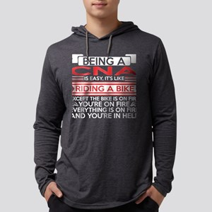Being CNA Easy Riding Bike Exc Long Sleeve T-Shirt