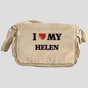 I love my Helen Messenger Bag