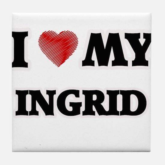 I love my Ingrid Tile Coaster