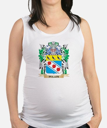Pullen Coat of Arms - Family Cr Maternity Tank Top