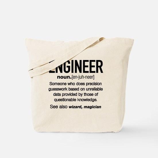 Cute Engineer Tote Bag