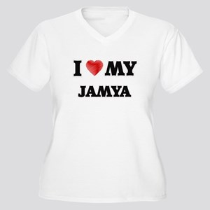 I love my Jamya Plus Size T-Shirt