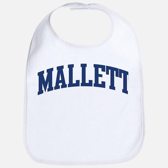 MALLETT design (blue) Bib