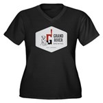 Grand River Brewing Logo Plus Size T-Shirt