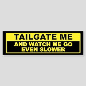 Tailgate Me Bumper Sticker