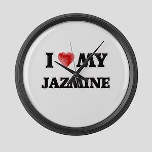 I love my Jazmine Large Wall Clock